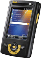 Use a handheld PDA for scanning inventory